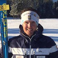 Schwedischer Abfahrtsmeister Alexander Köll